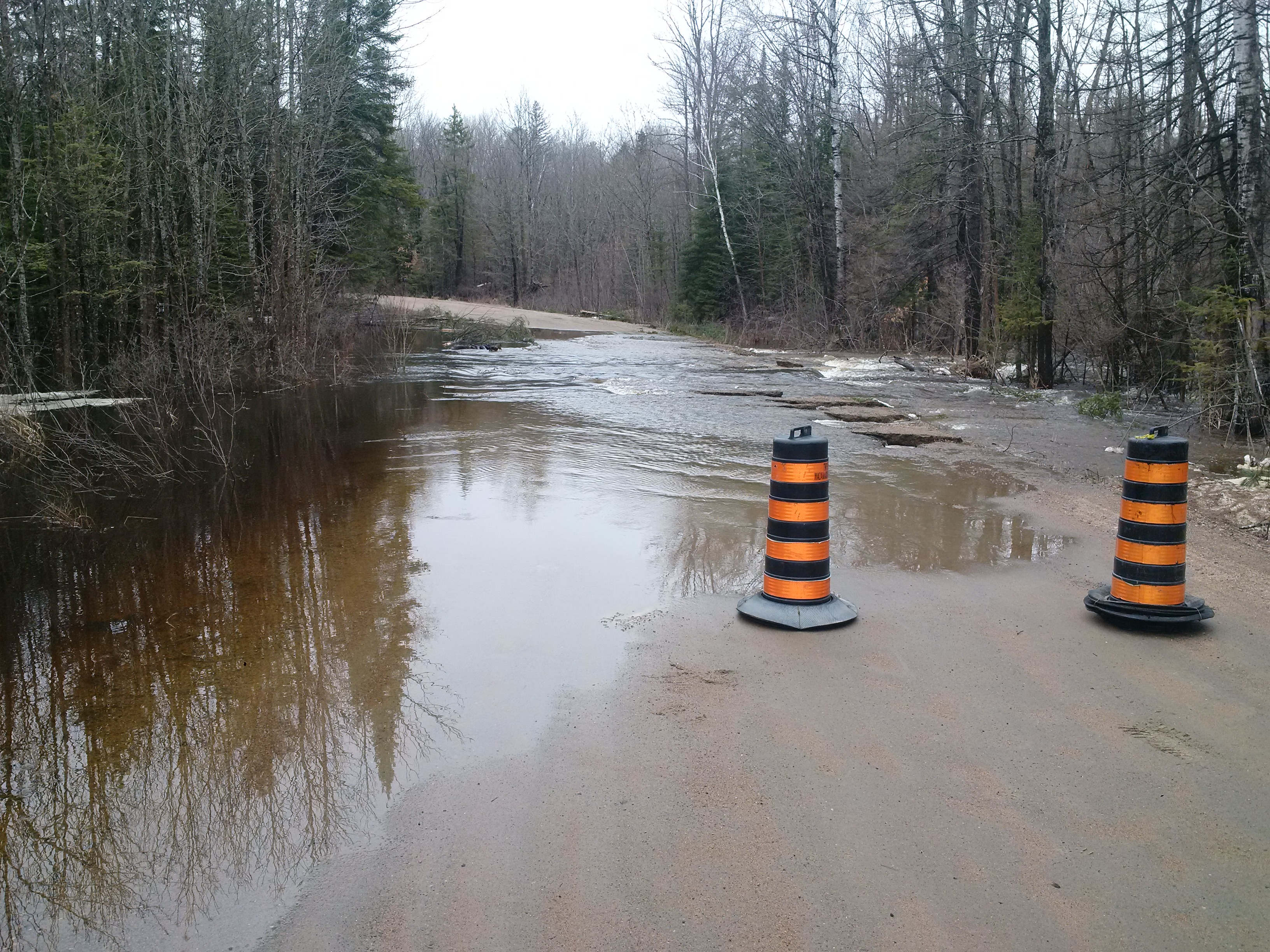 Flooding Causing Closures On Paugh Lake And Round Lake